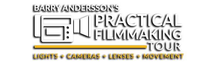 Barry Andersson's Practical Filmmaking Workshop Tour